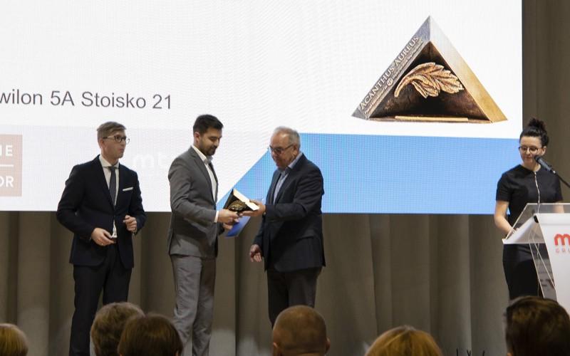 Nagroda za stoisko targowe najlepiej odzwierciedlające strategię marketingową firmy.